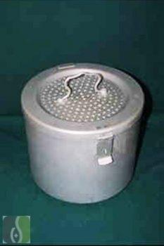 Sterilizáló doboz 23 cm magas