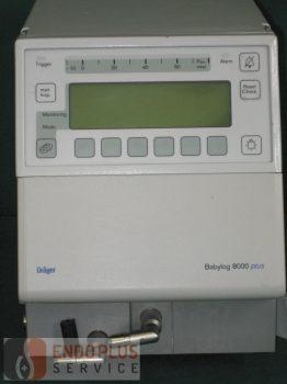 DRÄGER Babylog 8000 plus - Lélegeztetőgép