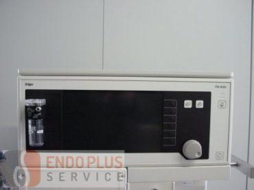 Draeger PM 8050 respirációs gáz monitor