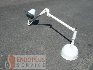 Mennyezeti vizsgáló lámpa falikarral