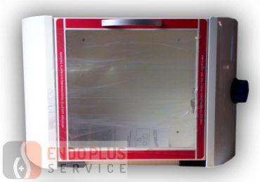 Faliszekrény riasztóval defibrillátor tárolására
