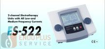 ES-522 2-csatornás elektroterápiás készülék