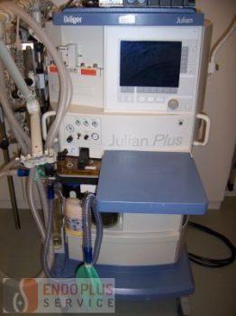 Dräger aneszteziológia apparát Julian