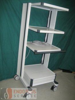 Endoszkópos műszertartó állvány,  trolley
